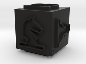 Cube Set-02 (repaired) in Black Natural Versatile Plastic