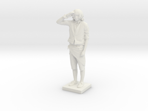 Printle C Homme 667 - 1/24 in White Strong & Flexible
