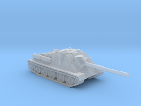 SU-85 tank (Russia) 1/200 in Smooth Fine Detail Plastic