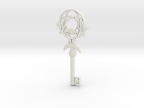 Dreamcatcher Key in White Natural Versatile Plastic
