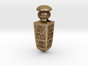 Jerichau pendant in Polished Gold Steel