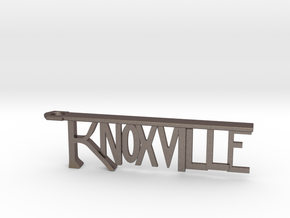 Knoxville Bottle Opener Keychain in Stainless Steel