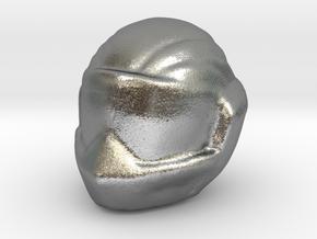 1/24 Racing Helmet in Natural Silver