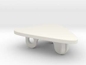 Deco Coffee Table in White Natural Versatile Plastic: 1:48 - O