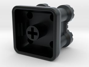 Castle Keycap in Black Hi-Def Acrylate