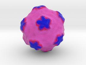 Satellite Tobacco Mosaic Virus in Full Color Sandstone