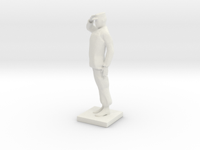 Printle C Homme 626 - 1/35 in White Natural Versatile Plastic