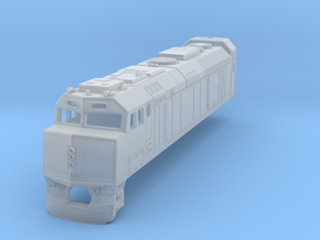 Via Rail F40 Locomotive in Smooth Fine Detail Plastic