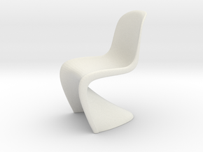 Chair, Miscellaneous 2 (Space: 1999), 1/30 in White Natural Versatile Plastic