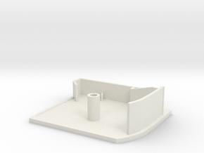 Silhouette Cap BC344 Right in White Natural Versatile Plastic