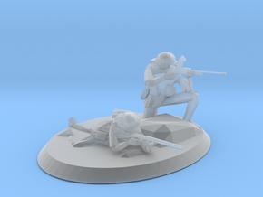 British infantry unit in Smooth Fine Detail Plastic