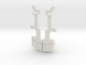 CW Defensor Hip Fillers in White Natural Versatile Plastic