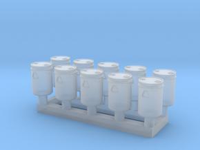 TJ-H02015x10 - Futs 30l a bondes in Smooth Fine Detail Plastic