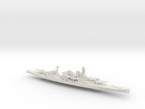 UK BC Repulse [1941] in White Natural Versatile Plastic: 1:1800