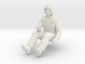 Printle V Homme 747 - 1/24 - wob in White Natural Versatile Plastic