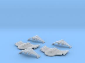 5k Romulan Cruiser Section in Smooth Fine Detail Plastic