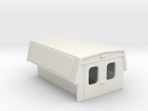 Utility Enclosure RPS Truck Bed 1-87 HO Scale in White Strong & Flexible