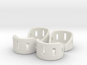 Rygel 1.7.1 - Motor Guards in White Natural Versatile Plastic