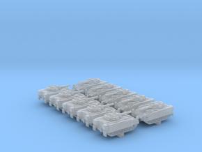 1/600 British Army Warrior Milan IFV x10 in Smoothest Fine Detail Plastic