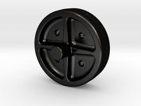 1985 Bridgelayer Replacement Wheel in Matte Black Steel