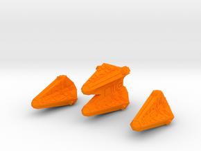 Thorlian O2 And O4 Group 2500 in Orange Processed Versatile Plastic
