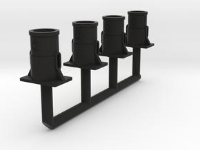 Fut tampon OCEM Ech 1/43.5 O in Black Natural Versatile Plastic