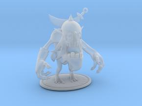 Dagger Warrior Zombie in Smooth Fine Detail Plastic
