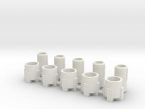 LED Fiber Optic Tube Kit in White Natural Versatile Plastic