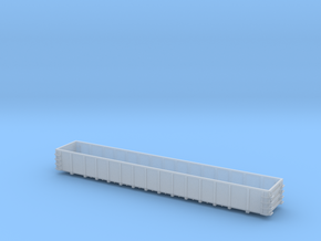 66 foot FCA Mill Gondola II - Zscale in Smooth Fine Detail Plastic