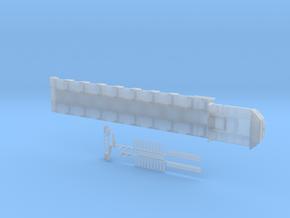 Tieflader ähnlich Goldhofer MPA 8 Achs 2750mm in Smooth Fine Detail Plastic