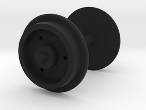 Tri-ang Big Big Train Wagon Wheel in Black Natural Versatile Plastic