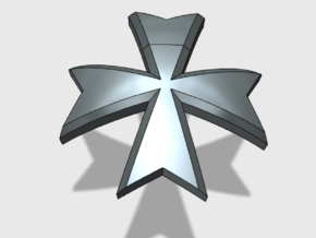 60x Maltese Cross : Shoulder Insignia pack in Frosted Extreme Detail