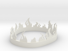 Stannis Baratheons Fiery Crown in White Strong & Flexible