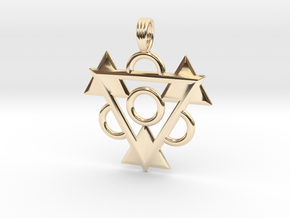 DMT ONE in 14K Yellow Gold
