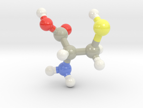 Cysteine (C) in Glossy Full Color Sandstone