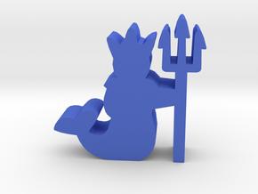 Game Piece, Merfolk King in Blue Processed Versatile Plastic