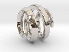 filler for sphere spiral 16mm in Platinum