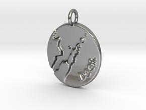 Door Peninsula Pendant in Natural Silver