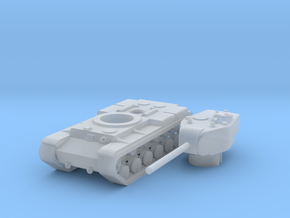 1/285 T-150 (Old WoT version) in Smooth Fine Detail Plastic: Small