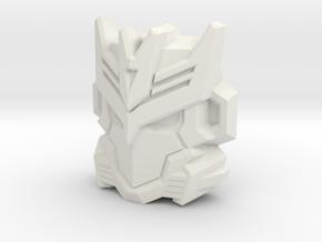 Tarn Faceplate for Titans Return in White Natural Versatile Plastic
