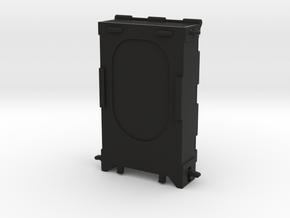 MECHANICAL WALLET 9 CARDS + CASH CLIP in Black Natural Versatile Plastic