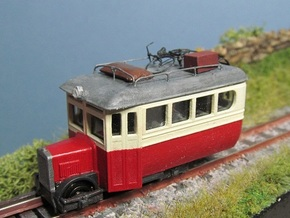 TTn3 Irish Railcar   in Smooth Fine Detail Plastic