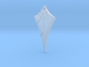 Flow Pendant 7 in Smoothest Fine Detail Plastic