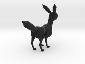 Umbreon by Krottyuser in Black Natural Versatile Plastic: 1:8