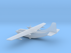 Fairchild C-123 Provider / Chase XC-123A in Smooth Fine Detail Plastic: 1:600