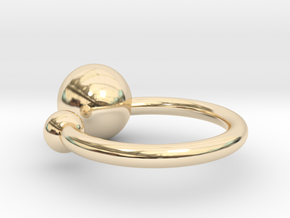 Bubble Ring in 14K Yellow Gold: Small