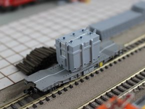 N Scale Transformer Load in Smooth Fine Detail Plastic