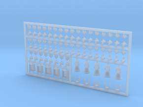Diverse E-Teile #1 in 1:40 in Smooth Fine Detail Plastic