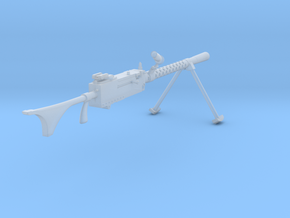 M1919A6  (1:18 scale) in Smooth Fine Detail Plastic: 1:18