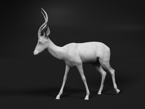 Impala 1:9 Walking Male in White Natural Versatile Plastic